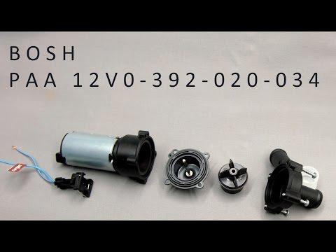 [AUTO] Разбираем автомобильную помпу bosch paa 12v 0-392-020-034