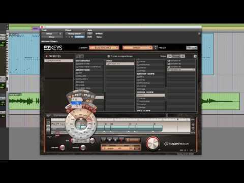 EZkeys: Wriritng a disco keyboard part