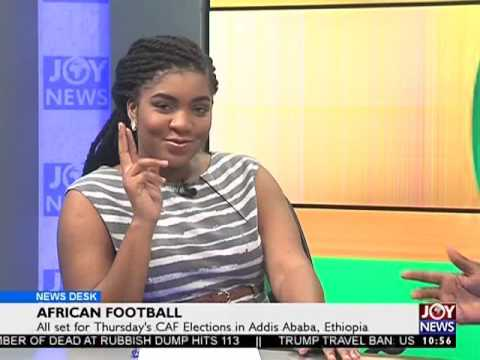 African Football - Sports Desk on Joy News  (16-3-17)