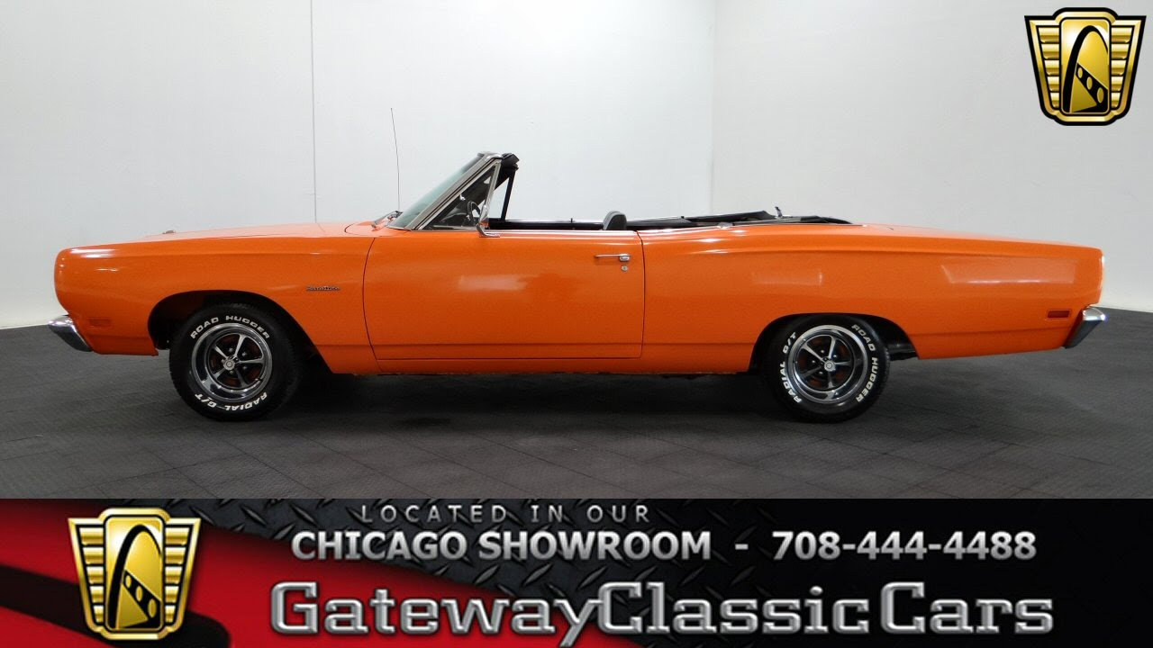 1970 Roadrunner Convertible Top Wiring Harness Electrical 69 Plymouth Road Runner Diagram 1969 Satellite Gateway Classic Cars Chicago 1021 Youtube Hemi
