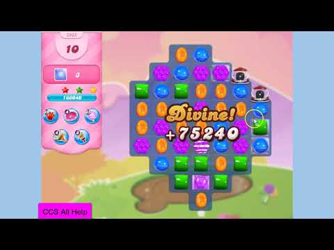 Candy Crush Saga Level 2865 New NO BOOSTERS Cookie