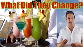 Carnival cruise line changes the drink package