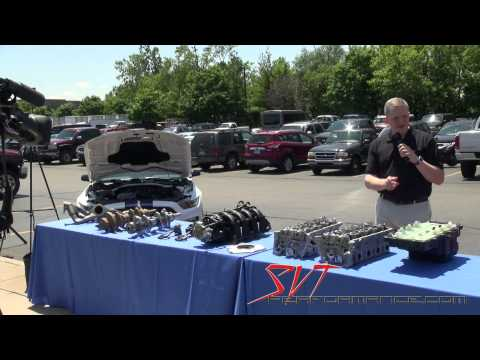 2015 Shelby GT350 5.2-liter Engine Media Presentation