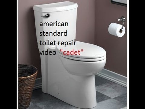Repairing American Standard Toilet Video Cadet 1 6 Gpf