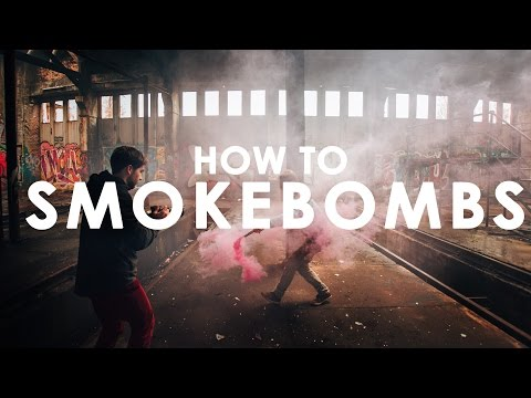 Smoke Bomb Photography Ideas & Photo Example