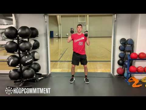 Hoop Commitment - Strength For Rebounding