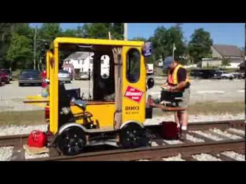 A rail speeder adventure youtube for Railroad motor cars for sale