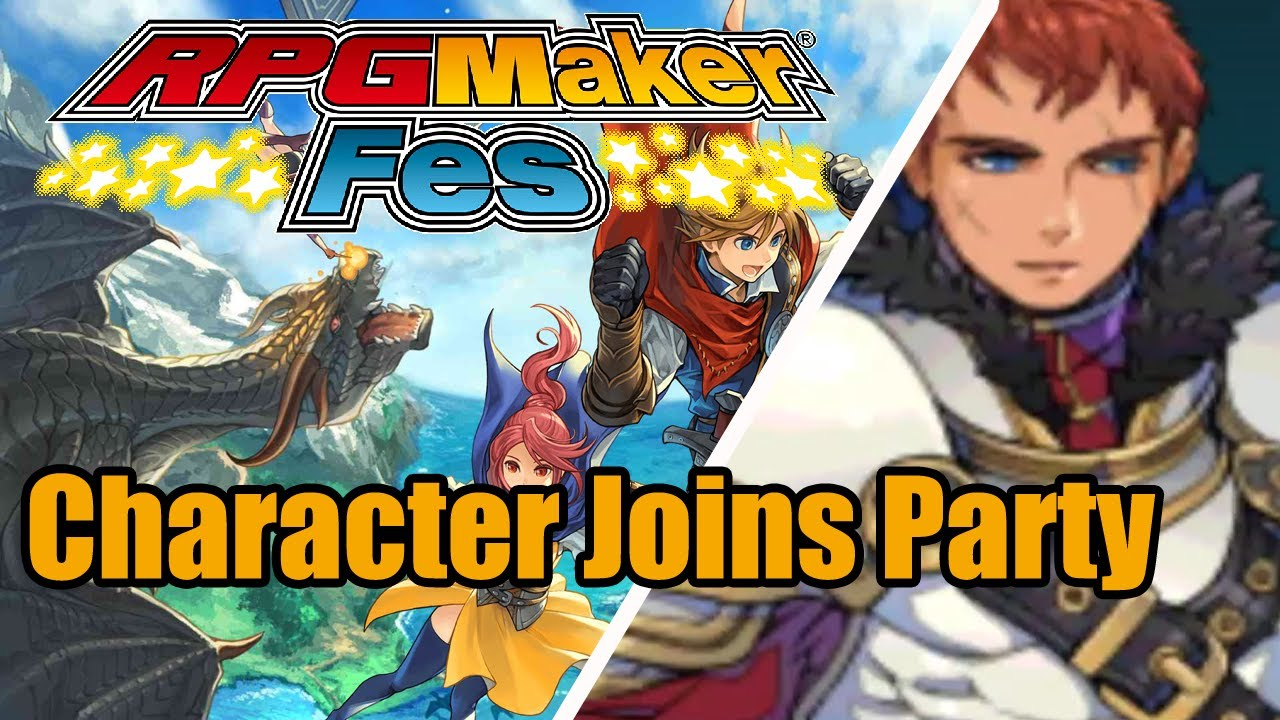 Rpg Maker Fes Character Joins Party Tutorial A Nintendo 3ds