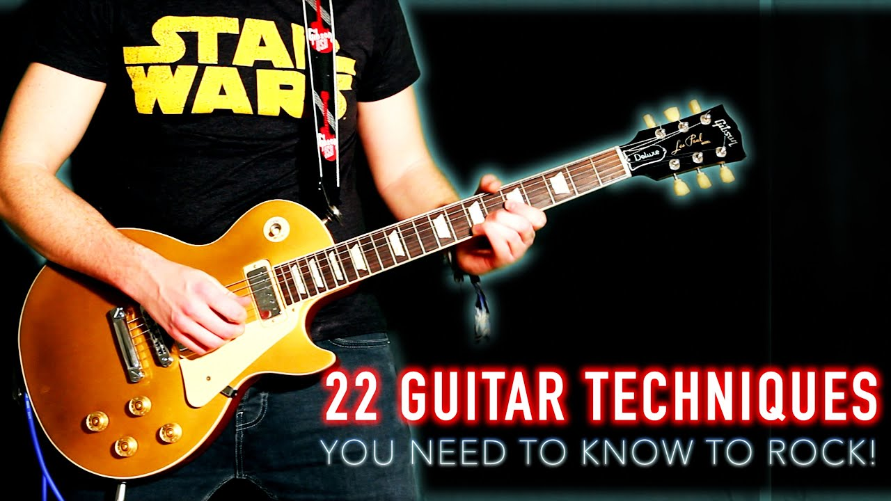 22 Guitar Techniques You Need To Know To Rock! - YouTube