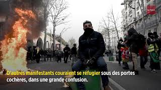 Réforme des retraites : des incidents dans la manifestation parisienne
