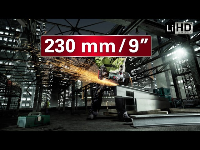 Metabo 36 V Akku-Winkelschleifer / 36 V Cordless Angle Grinder
