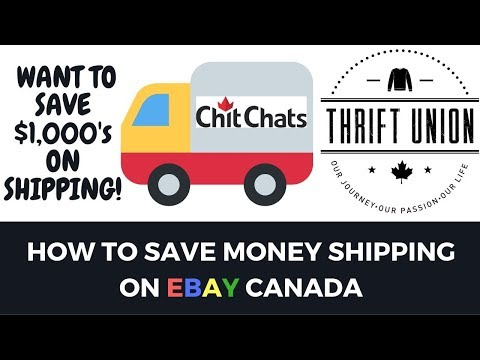 HOW TO SAVE MONEY ON EBAY CANADA SHIPPING