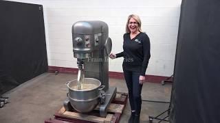 Hobart Dough Mixer Demonstration