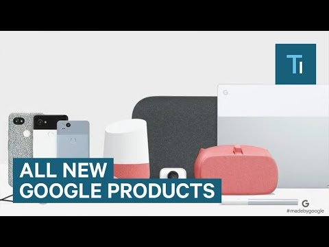 All the products Google announced at its Pixel event