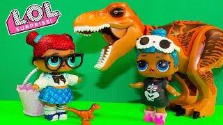 Куклы ЛОЛ Попали в Прошлое Мультики ЛОЛ Сюрпризы Игрушки Видео для детей LOL Surprise