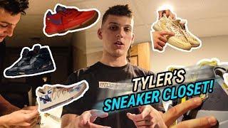 DRAKE Sent Tyler Herro These Kicks! Inside The Kentucky Guard's Sneaker Closet 🔥