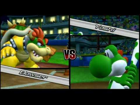 Mario Super Sluggers: Bowser vs. Yoshi CHALLENGE (1/3 ... | 480 x 360 jpeg 17kB