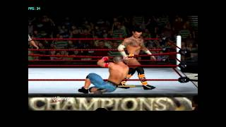 2PLAYERS: Gameplay WWE 12 Wii Emulat pe PC