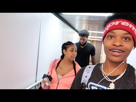 WE ALMOST MISSED OUR FLIGHT!! Ft. Chris and Queen, Ar'mon and Trey
