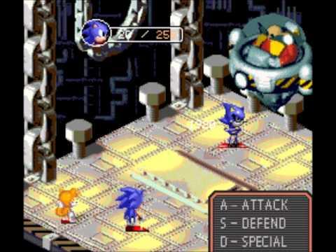 Super Mario RPG Battles - Sonic STYLE!!!