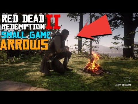 red dead redemption 2 small game arrows