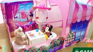 キッズテント ミニーマウス カフェ ディズニー / Play Tent Minnie Mouse Cafe : Play House thumbnail