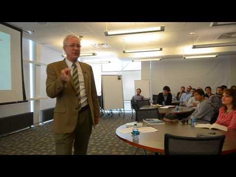 Glenn School Colloquium Series - Jos Raadschelders - 9/8/14