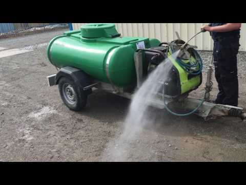 TRAILER ENGINEERING FAST TOW POWER WASHER