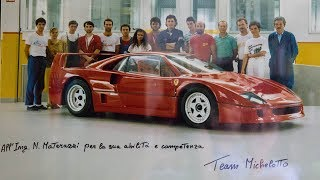 Ferrari F40: The creator Nicola Materazzi tells why Ferrari made it - by Davide Cironi (SUBS)