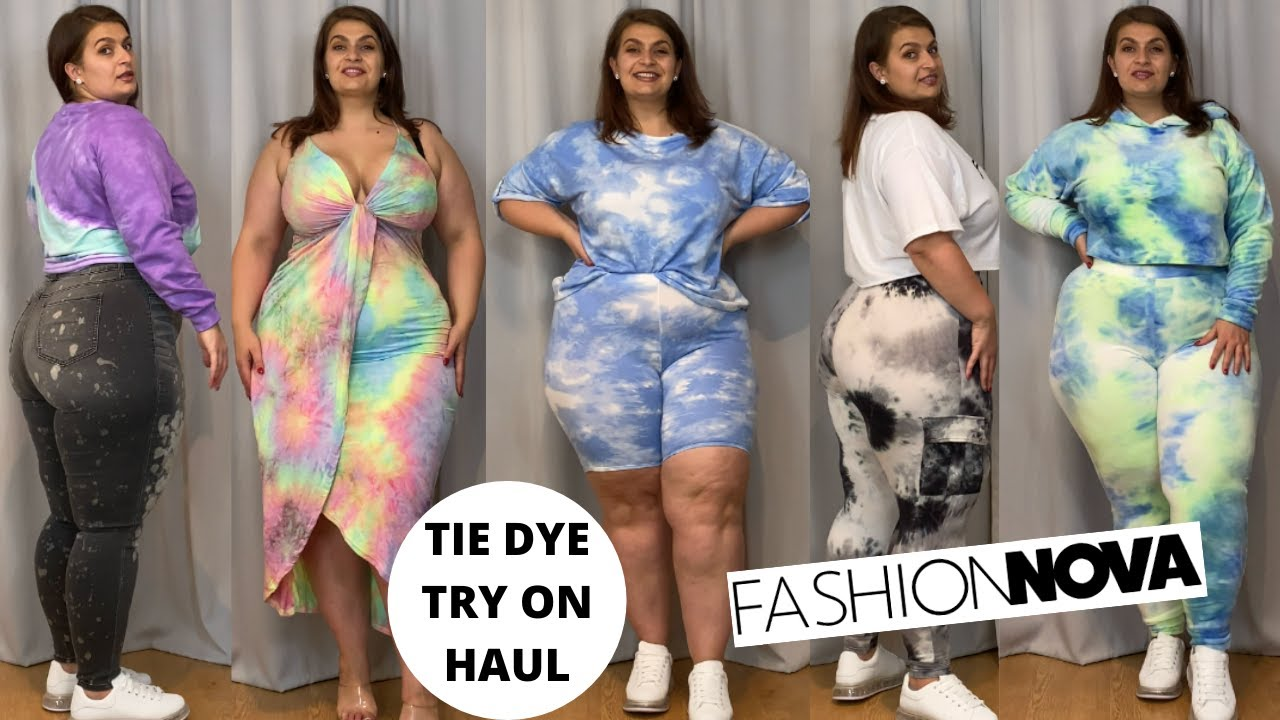 Fashion Nova Curve Tie Dye Try On Haul