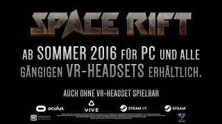 SPACE RIFT Gameplay Trailer (DE)
