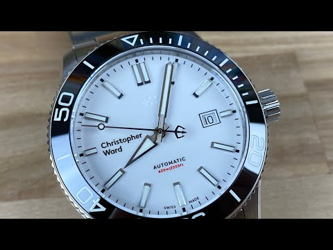Christopher Ward C60 Trident White Dial