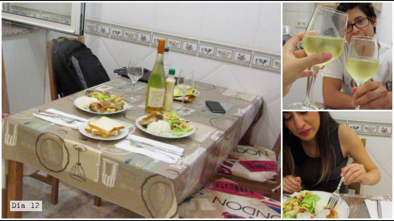Rom ntica cena en casa youtube - Cena romantica in casa ...