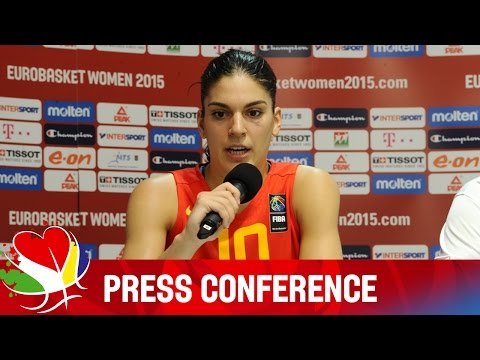 Belarus v Spain - Post Game - Press Conference - 2015 FIBA EuroBasket for Women