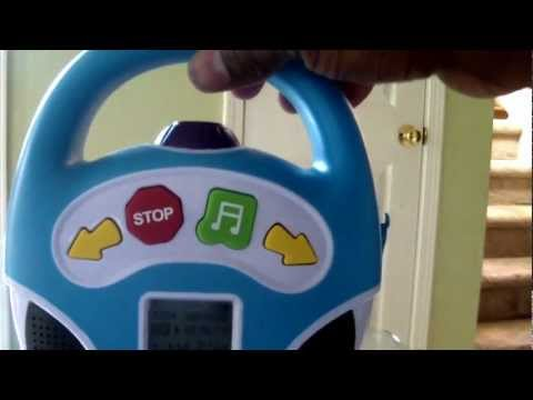 Blue Hat Toy Company Little Tunes MP3 Player boom box kids children music
