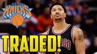 Derrick rose traded to the new york knicks!!!   good or bad trade?
