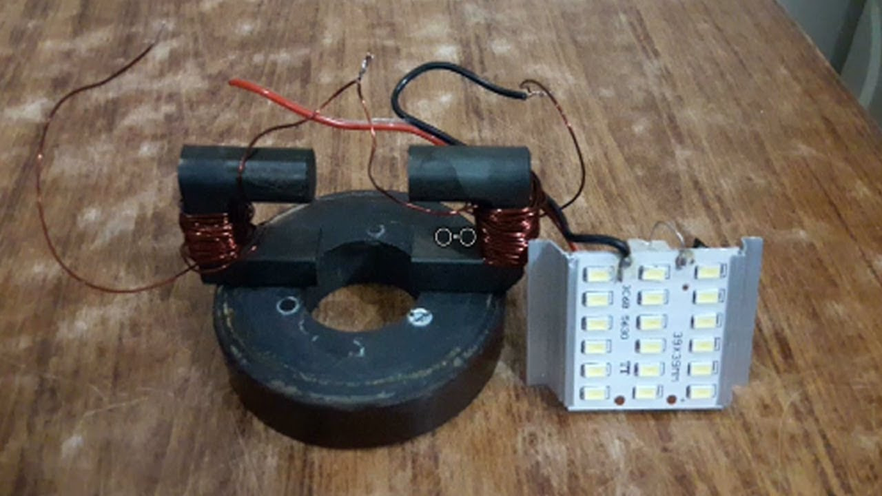 How to Make Free Energy Generator With Magnet Motor using Copper ...