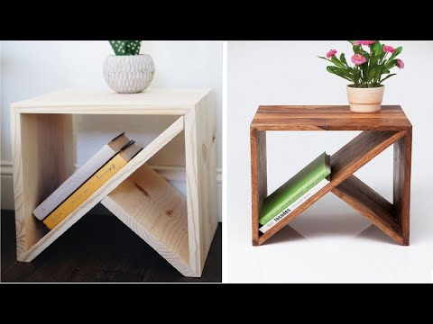 5$ DIY coffee table | Build a small bedside table design