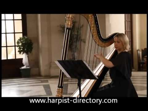 1st Arabesque Performed By The Harpist Directory Wedding Harpist NW05.