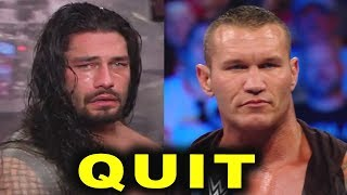 10 WWE Wrestlers Rumored to QUIT WWE in 2019 - Roman Reigns & Randy Orton Leaving?