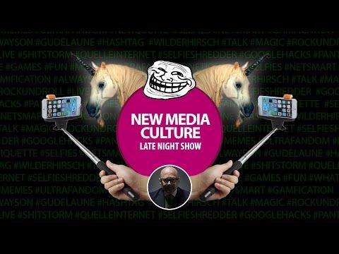 New Media Culture Late Night Show feat. NetSmart, UltraFandom, Selfies & Memes