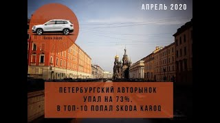 Авторынок Санкт Петербург апрель 2020