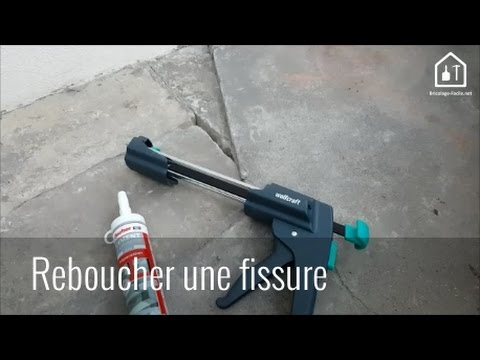conseil bricolage reboucher un trou avec du ciment express bricolage facile youtube. Black Bedroom Furniture Sets. Home Design Ideas