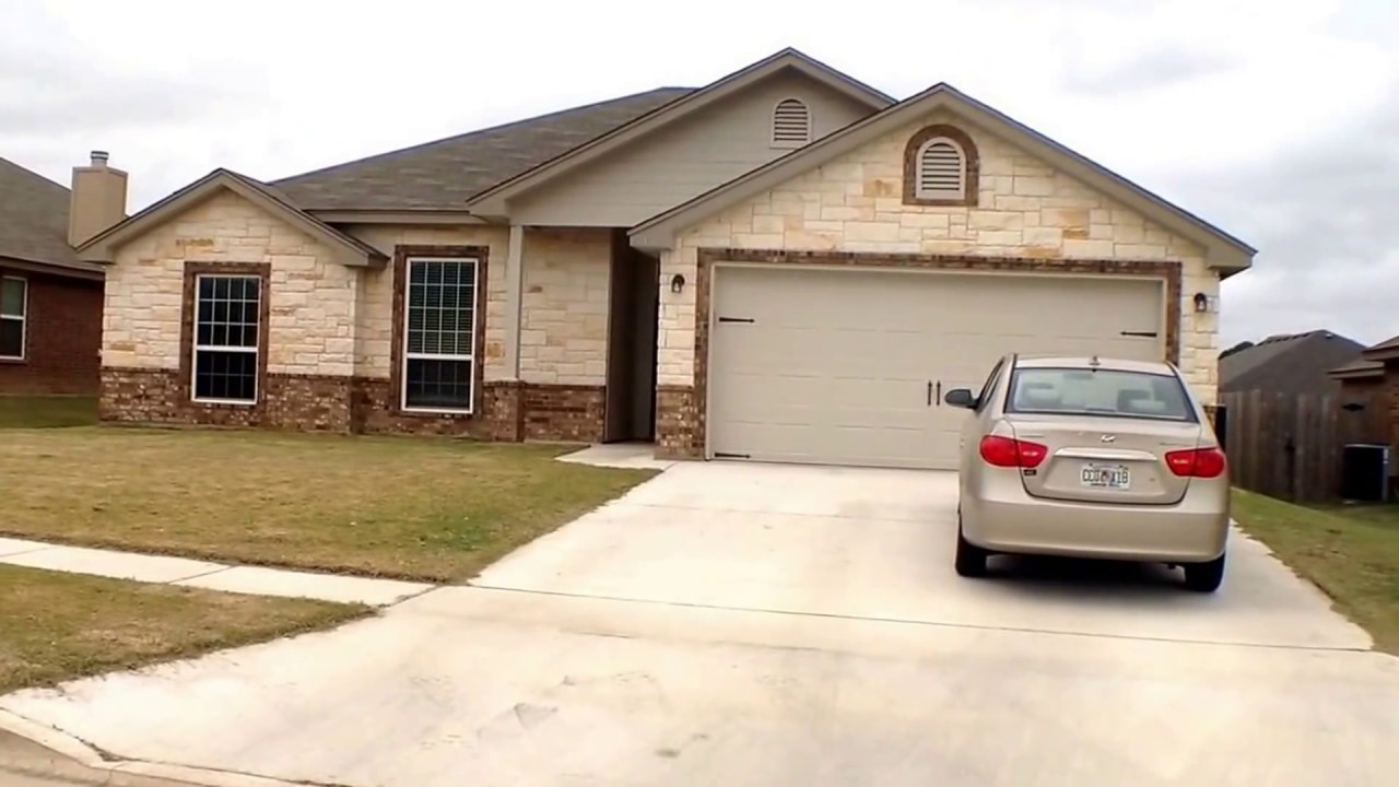 Killeen Rental Houses 4BR/2BA By Property Management In Killeen, TX