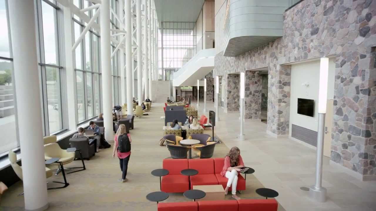 Active Learning At Gvsu 39 S Mary Idema Pew Library Steelcase Youtube