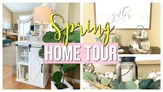 SPRING DECOR HOME TOUR 2019 | MODERN FARMHOUSE SPRING HOUSE TOUR