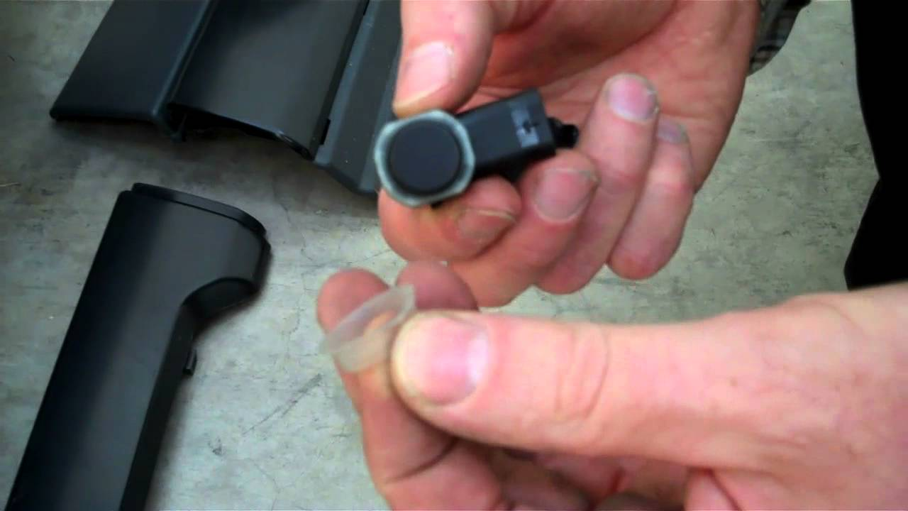 How to fit Range Rover Sport 2010 Rear Bumper Parking Sensors and