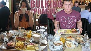 Bulking in Prague! Full Holi-Day of Eating