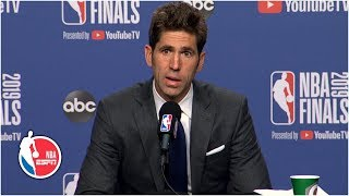 Warriors GM Bob Myers emotional over Kevin Durant injuring his Achilles | 2019 NBA Finals