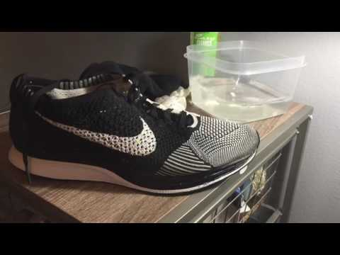 HOW TO CLEAN SNEAKERS ~ Nike Flyknit Restoration
